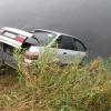 В Тверской области иномарка вылетела с берега в реку, водитель погиб (фото)