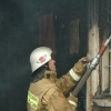 В Лихославльскую больницу доставили мужчину отравившегося угарным газом на пожаре в Спировском районе
