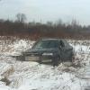 В Лихославле пьяный гонщик на иномарке вылетел с дороги, перевернулся и убежал с места аварии (фото)