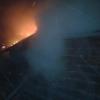 В Спирово ночные посиделки в бане закончились пожаром (фото)