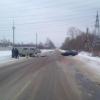 В Торжке «лоб в лоб» столкнулись легковушка и внедорожник (фото)