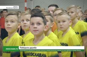 Лихославльские футболисты приняли участие в межрегиональном турнире по мини-футболу в Республике Карелия (видео)