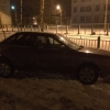 В Торжке пьяный гонщик «догнал» «Ауди» (фото)