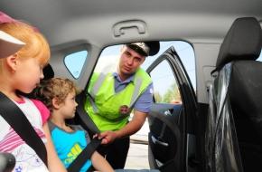 ГИБДД Лихославльского района напоминает о необходимости использования ремней безопасности, детских удерживающих устройств при перевозке детей