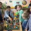 Сотрудники Госавтоинспекции Лихославльского района провели занятия по Правилам дорожного движения в детском саду «Улыбка»