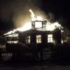 Ночью в Спировском районе пожар полностью уничтожил жилой дом (фото)