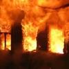 В деревне в Лихославльском районе дотла сгорел дачный дом