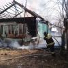 Днем под Торжком из-за неисправной печи сгорел жилой дом (фото)