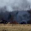 В Лихославльском районе сожгли трупы 40 коров брошенных в поле (видео)
