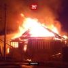 В поселке Калашниково сгорел очередной дом (видео)