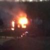 В поселке Калашниково опять подожгли дом (фото)