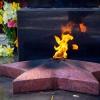 День Победы: Праздничное шествие, митинг и акция «Свеча памяти» в поселке Калашниково (фото)