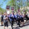 Жители и гости города Лихославля приняли участие в шествии «Бессмертного Полка»