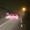 В Лихославле водитель иномарки влетел в бетонный забор, есть пострадавшие (фото)