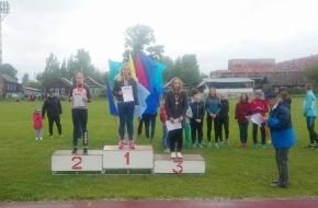 Лихославльские легкоатлеты завоевали золото и серебро Чемпионата Тверской области