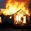 Под Торжком полностью сгорел дачный дом