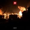 Сильнейший пожар в Тверской области уничтожил за одну ночь 6 домов и 2 сарая (видео)