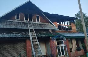 Причиной пожара в продуктовом магазине в Калашниково стало короткое замыкание