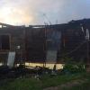 В Лихославле пожар оставил семью без крыши над головой (фото)