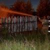 Вечером в Лихославльском районе сгорела баня