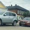 В Торжке водитель «Приоры» догнал внедорожник