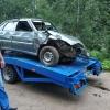 В Спировском районе водитель «пятнашки» вылетел с дороги в дерево (фото)