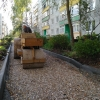 В Лихославле по программе «Комфортная городская среда» ремонтируют двор многоквартирного дома