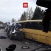 Страшная автокатастрофа под Тверью, десятки погибших и пострадавших (видео)