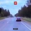Появилось видео смертельного столкновения двух автобусов под Тверью, в котором погибли 13 человек (видео)