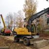 В Лихославле продолжается капитальный ремонт участка теплотрассы по улице Первомайской (фото)
