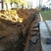 Из-за ремонта канализации жители поселка Калашниково остались без воды, света и тепла