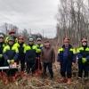 В Лихославльском районе продолжаются работы по расчистке линий электропередач