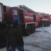 В деревне под Лихославлем из-за дряхлой электропроводки загорелся жилой дом