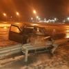 Опубликовано видео погони за пьяным водителем, который влетел в отбойник на лихославльском повороте (видео)
