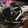 Под Торжком водитель без прав за рулем элитной иномарки угробил своего пассажира и пересадил его за руль автомобиля (фото)