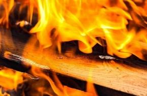 Ночью в Лихославле загорелся магазин
