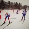 В Калашниково прошли традиционные открытые районные соревнования «Рождественская гонка»