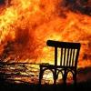 В Лихославльском районе огонь уничтожил дачу