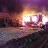 Ночью в Лихославльском районе дотла сгорел жилой дом (фото)