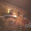 Ночью в Спирово сгорела квартира (фото)