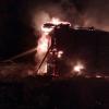 В Селищах сгорели два дома. В огне погиб молодой мужчина (фото)