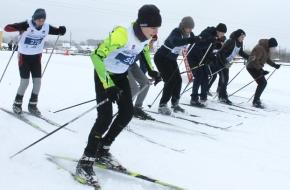 В Лихославле прошел муниципальный этап массовой лыжной гонки «Лыжня России – 2019»
