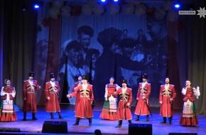 Московский казачий хор поздравил женщин Лихославльского района с 8 марта (видео)