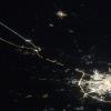 Ночной Лихославль попал на фото сделанное из космоса