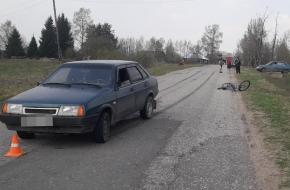 В Лихославльском районе водитель «Жигулей» сбил 10-летнего ребенка на велосипеде (фото)