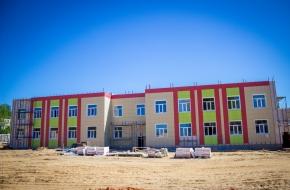 В новом детском саду в поселке Калашниково начались внешние и внутренние отделочные работы (фото)