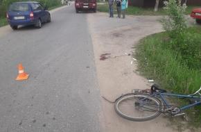 В Лихославле «КамАЗ» переехал пьяного велосипедиста (фото)