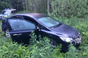 Угнанную в Лихославле «Хонду» нашли в ржевском лесу (фото)