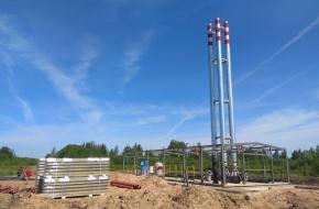 В Лихославле полным ходом идет строительство новой модульной котельной (фото)
