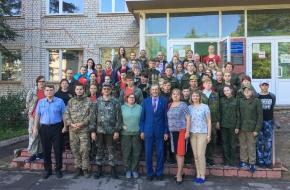 Областной слет «Школа молодого поисковика» проходит в Лихославльском районе